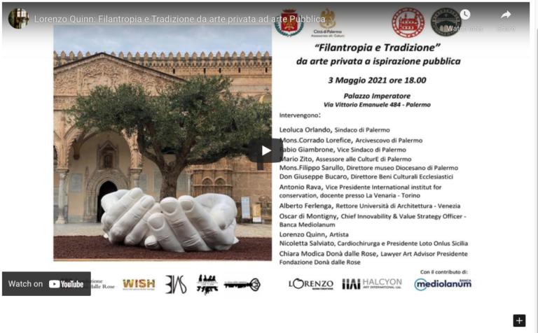 """Special Event May 3: """"Filantropia e Tradizione"""""""
